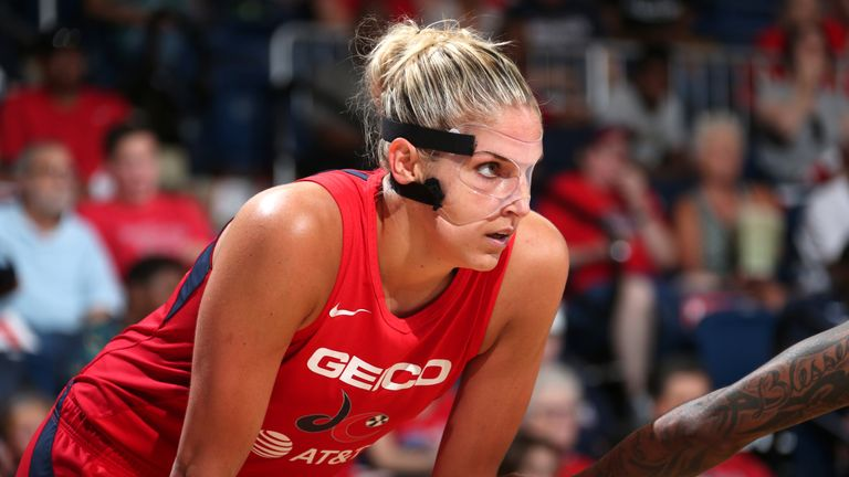 Elena Delle Donne is just a few points away from hitting 50 per cent of her field goals, is hitting 40 per cent from distance and 97 per cent from the free-throw line