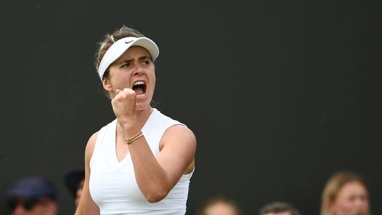 Elina Svitolina reached the semi-finals of Wimbledon this year