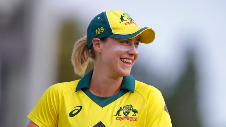Ellyse Perry took 7-22 in 10 overs, including five wickets in her first five overs