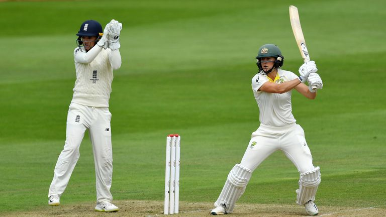 England v Australia: Women's Ashes Test, day two