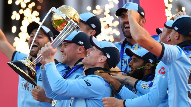 England lift Cricket World Cup