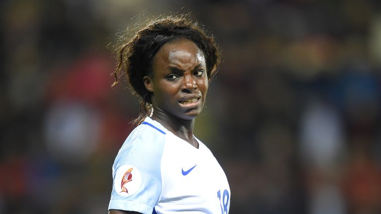 Eniola Aluko was praised by the Sky Sports News' 'Tackling Racism - Women' show for speaking out on the issue.