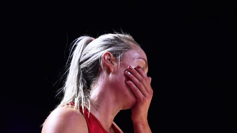 Heartbreak for England at the hands of the Silver Ferns