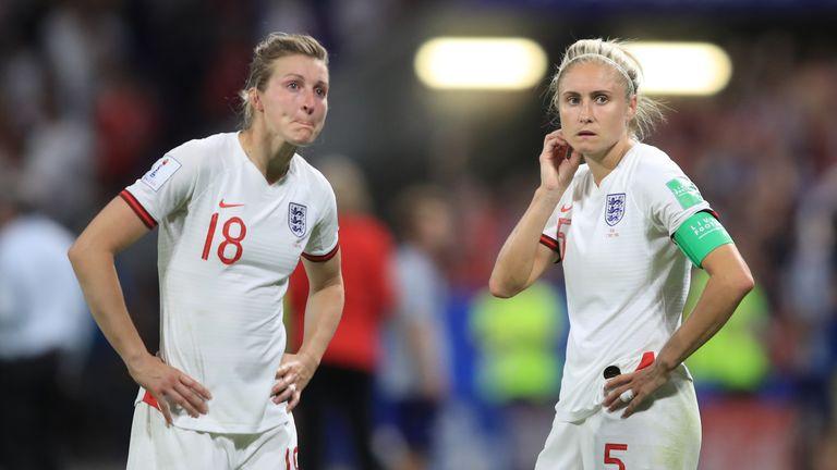 England Women were beaten 2-1 by the USA Women in the Women's World Cup semi-finals