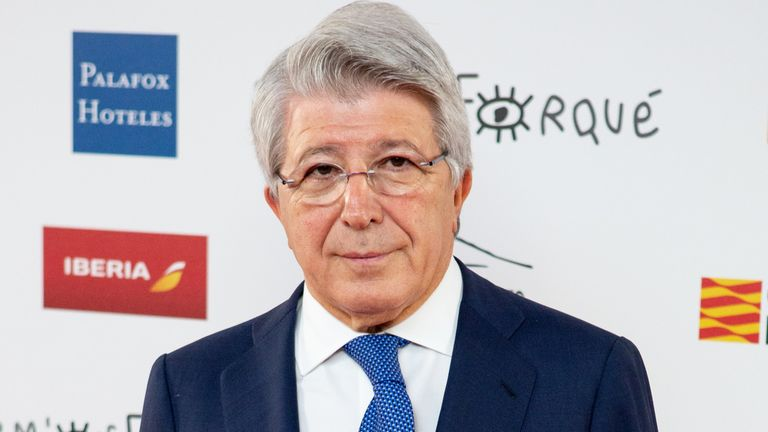 Enrique Cerezo has admitted he is in the dark regarding Antoine Griezmann's future at the Wanda Metropolitano
