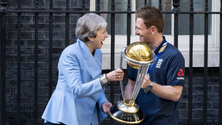 England's World Cup winners visit Downing Street as celebrations continue