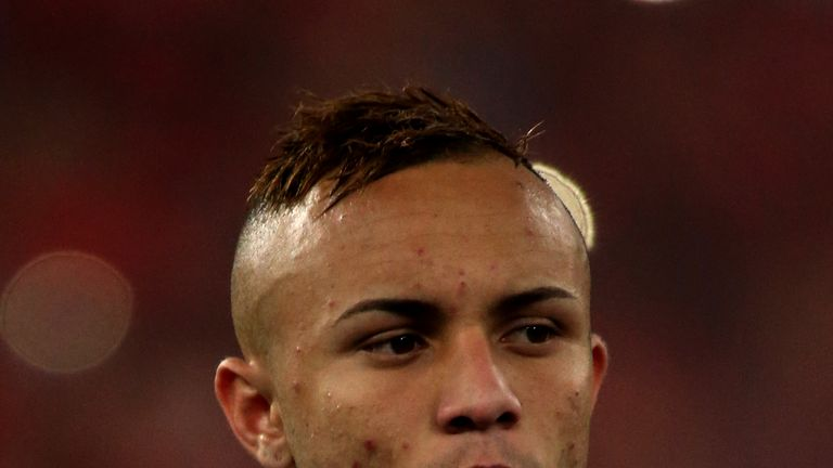 Soares has earned the nickname 'Cebolinha' meaning chives after a Brazilian cartoon character with a sparse hairline