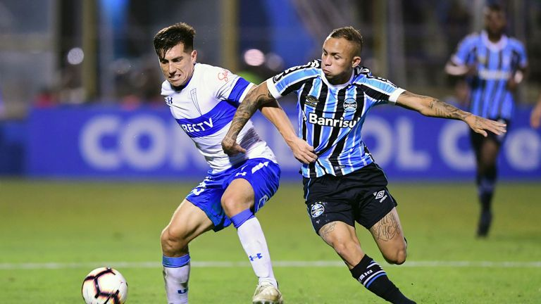 Everton Soares has caught the eye following an impressive 18 months for Gremio in Brazil, as well for his national side in the Copa America