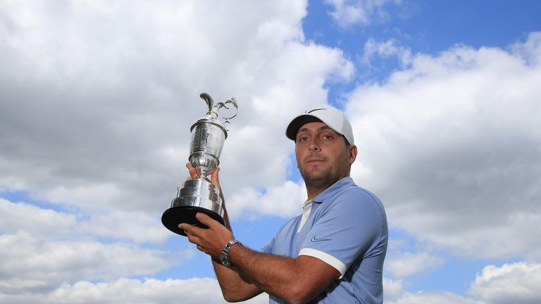 Francesco Molinari will defend the Claret Jug at Royal Portrush