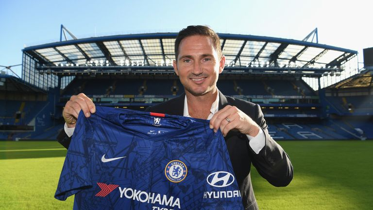 Frank Lampard returns to Chelsea, where he spent 13 years as a player