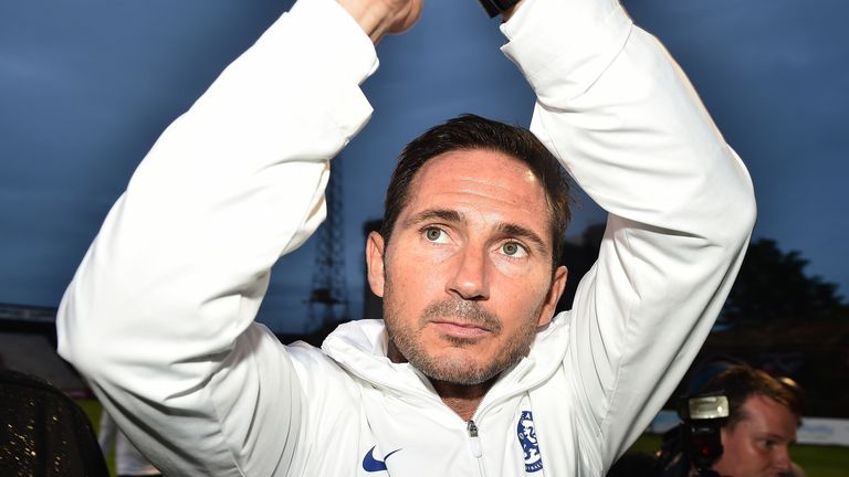 Lampard after the final whistle