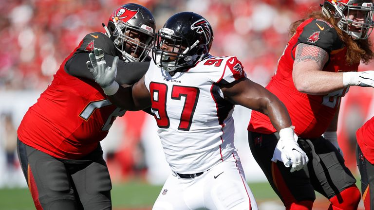 Atlanta Falcons and Grady Jarrett agree four-year, $68m deal