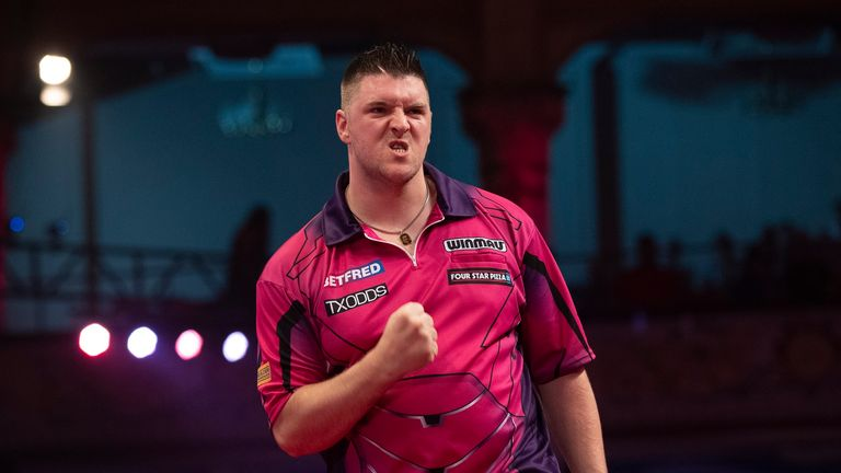 Daryl Gurney's previous World Matchplay semi-final appearance in Blackpool ended in defeat against Peter Wright
