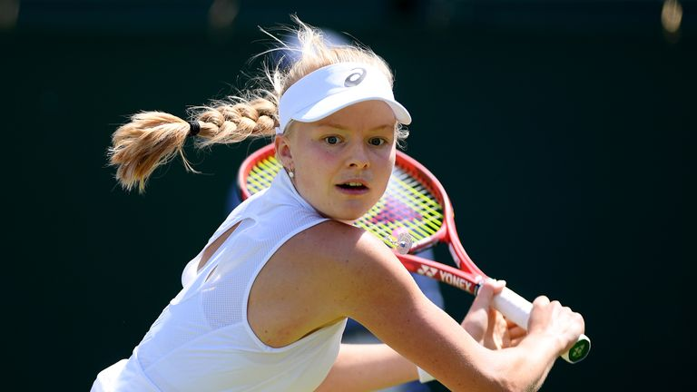 Great Britain's Harriet Dart one match away from US Open main draw