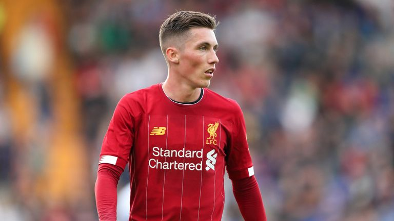 BIRKENHEAD, ENGLAND - JULY 11: Harry Wilson of Liverpool during the Pre-Season Friendly match between Tranmere Rovers and Liverpool