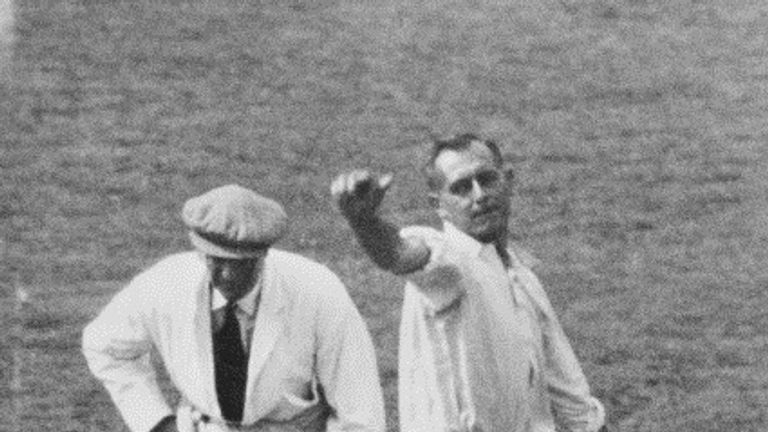 The second Test of the 1934 series at Lord's, was known as Verity's Match