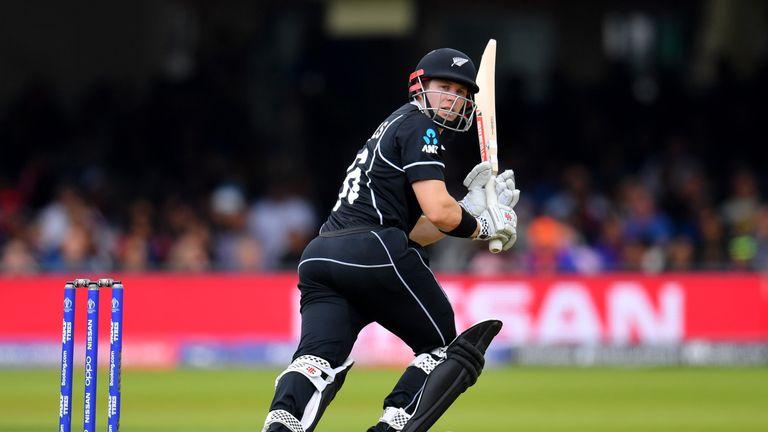 Nicholls struck his ninth ODI half-century