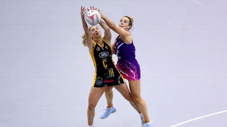 Jade Clarke (l) returns for another season and will again take on the role of vice-captain