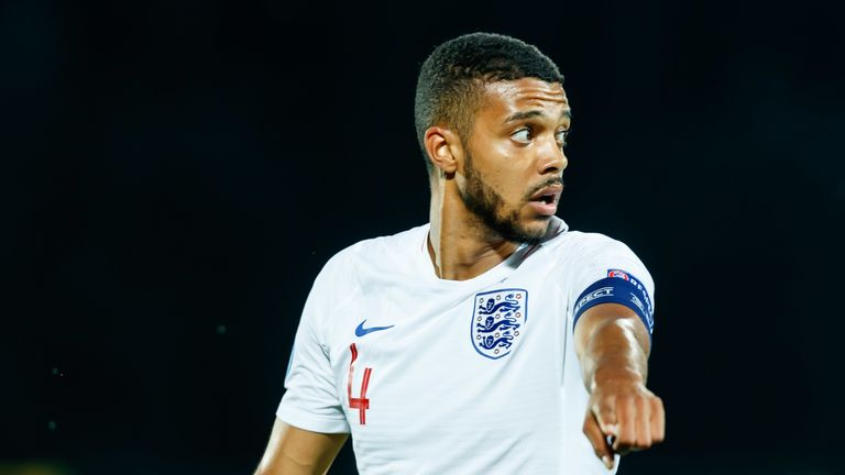 Jake Clarke-Salter is captain of England's under-21s