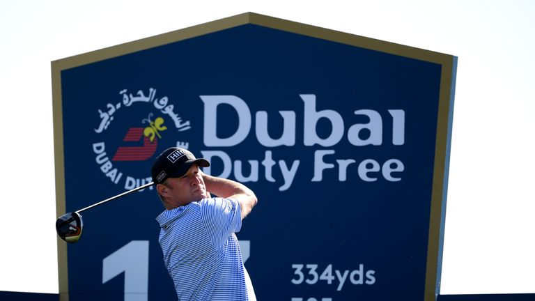 Donaldson mixed two birdies with three bogeys during the opening round