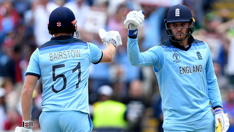 The opening partnership between Jason Roy and Jonny Bairstow has been key for England in the World Cup