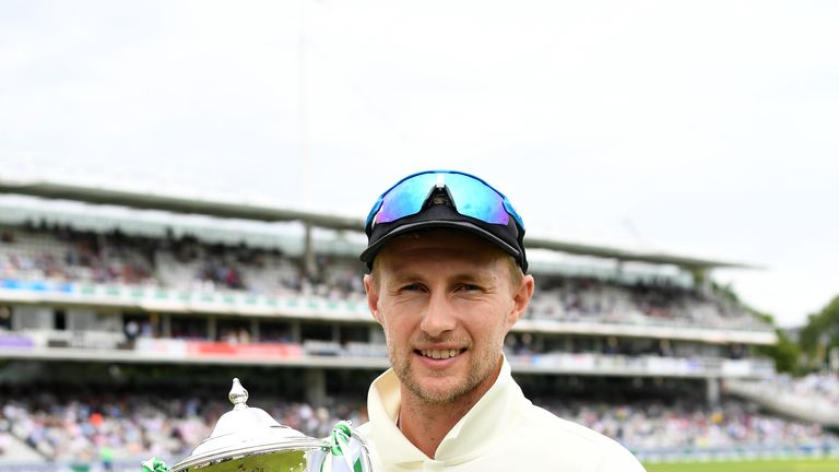 Root will hope to have another trophy - as well as a small urn - in his hands come the end of the summer