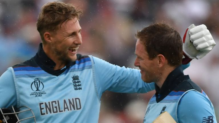 Joe Root and Eoin Morgan steered England to victory in Birmingham
