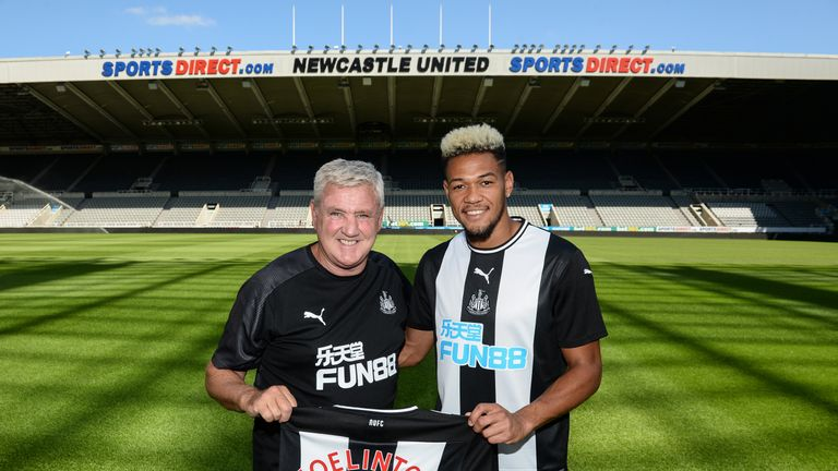Joelinton becomes Newcastle's first signing of the summer window