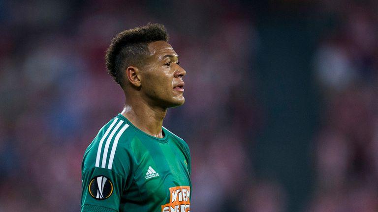 Joelinton impressed while on loan at Rapid Vienna