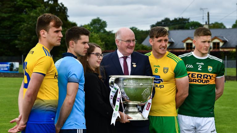 Horan was speaking at the launch of the All-Ireland series in Monaghan on Tuesday