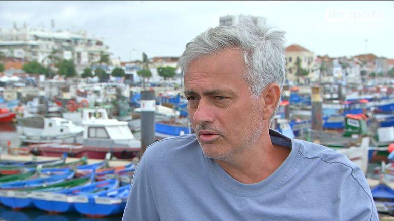 Jose Mourinho exclusive