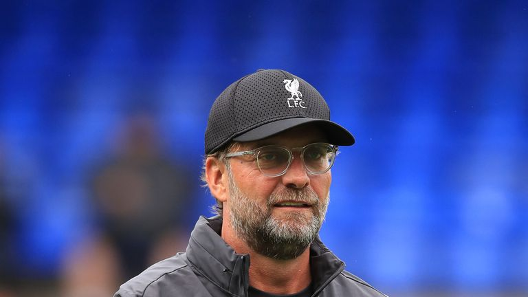 Jurgen Klopp says he doesn't expect Liverpool to have the biggest transfer window