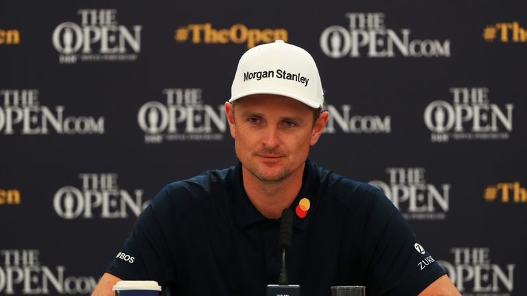 The Open: Justin Rose returns after taking break in 'too condensed' schedule