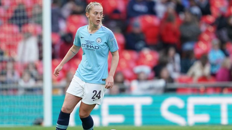 Keira Walsh helped Manchester City to a domestic cup double last season