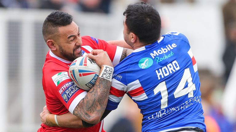 Krisnan Inu played a starring role as Salford beat Huddersfield