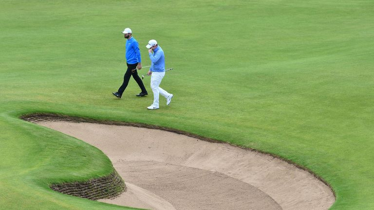 British Open: Kyle Stanley and Robert MacIntyre ugly altercation
