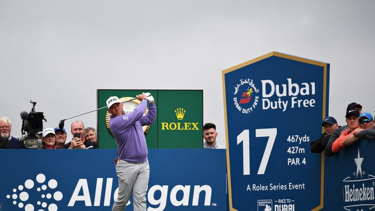 Lee Westwood is in a share of third after two solid rounds