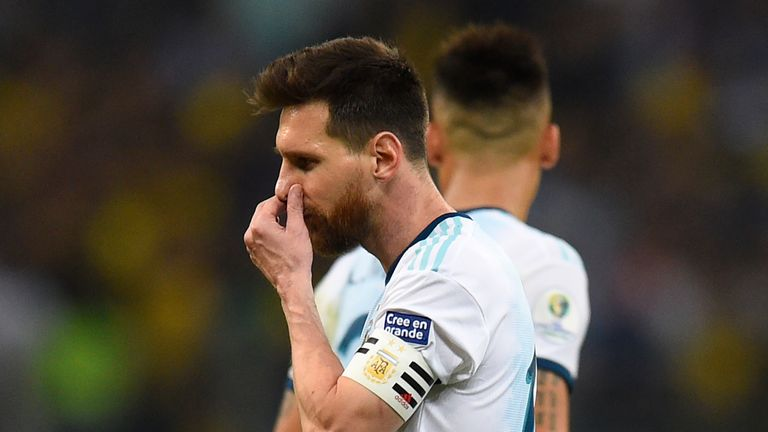 Lionel Messi has allayed fears over his international future