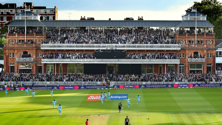 Lord's has hosted the men's and women's World Cup finals in recent years