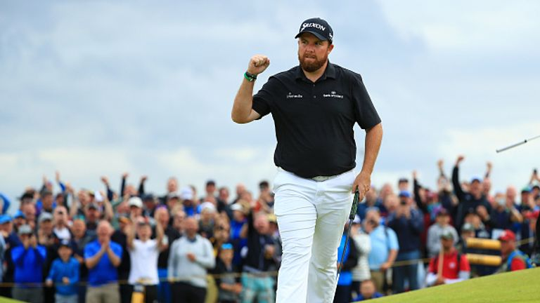 Shane Lowry won his first major title with victory at Royal Portrush