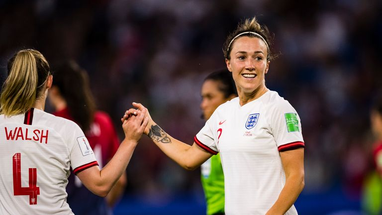 England defender Lucy Bronze wins Women's World Cup Silver Ball