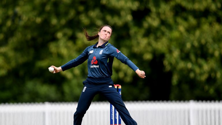 Mady Villiers could make her international debut in the Women's Ashes T20Is