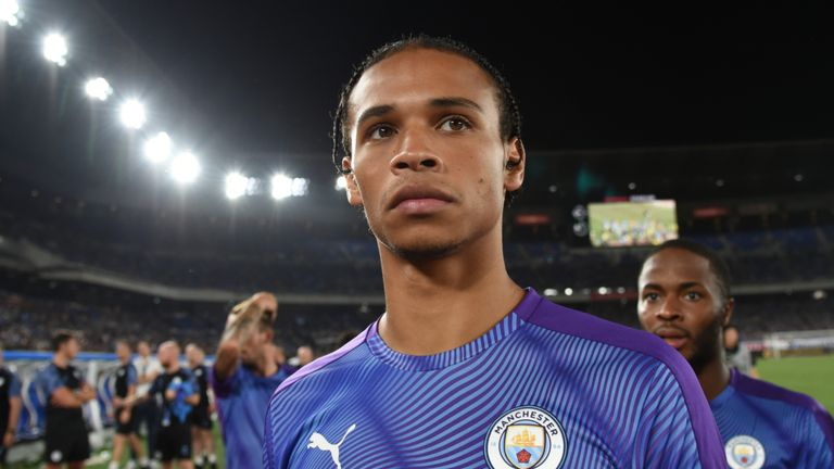 Manchester City's Leroy Sane has been described as Bayern Munich's 'dream signing' this summer