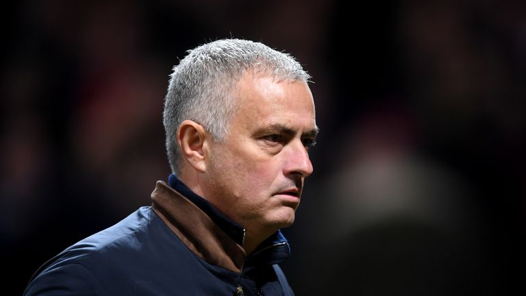 Former Manchester United manager Jose Mourinho has been out of work since December