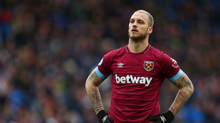 Marko Arnautovic and West Ham United appear to be at loggerheads over the players' future at the club.