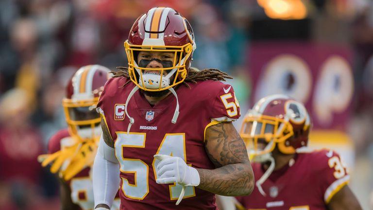 online retailer a7fda 67f7d Redskins release linebacker Foster - Jersey Peeps Social Network