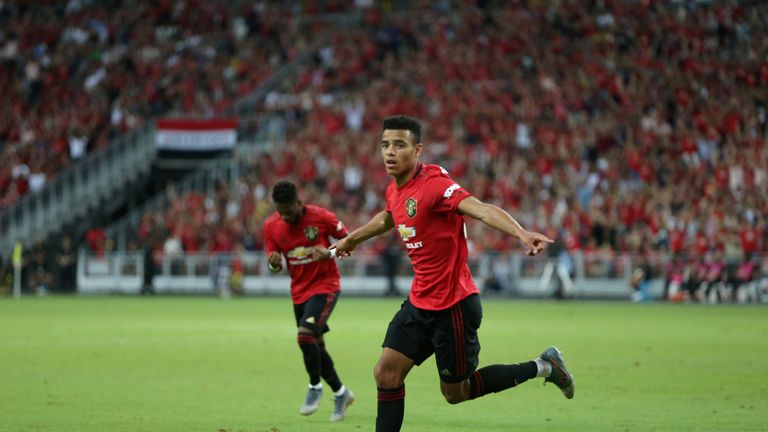 Mason Greenwood has played in every Manchester United league game this season