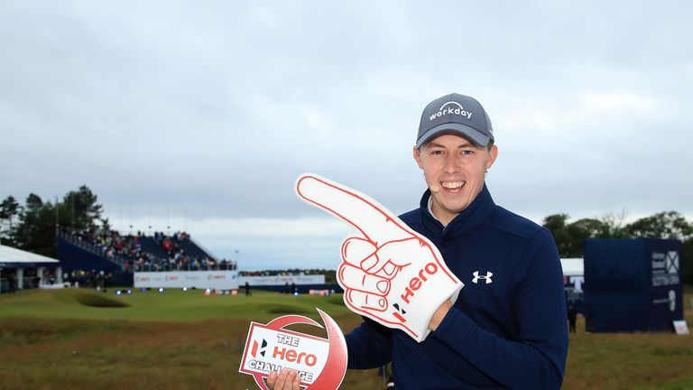 Matt Fitzpatrick came from behind to win the final