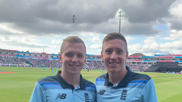The Litchfield brothers left the pool and hit Edgbaston for the day