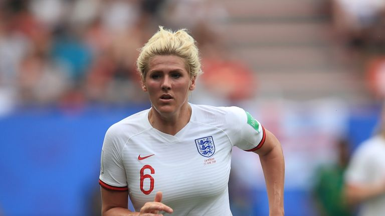 Millie Bright is suspended for Saturday's third place play-off at the Women's World Cup